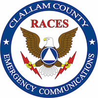 Clallam County RACES logo